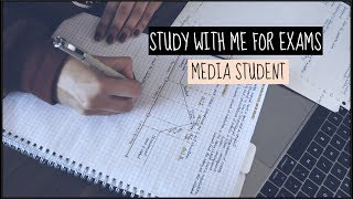 Study with me: Media student