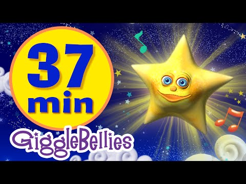Twinkle Twinkle Little Star | 11 Lullabies, Nursery Rhymes, Childrens Bedtime Song Collection video