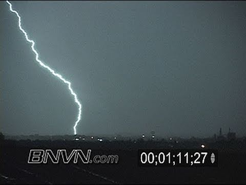 9/26/2007 Overnight Lightning Footage From Northfield, MN