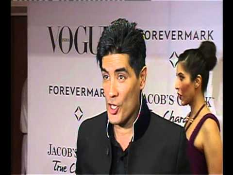 MANISH MALHOTRA KAJOL SIDHARTHA MALLYA AT VOGUE MAGAZINE 5TH ANNIVERSARY RED CARPET