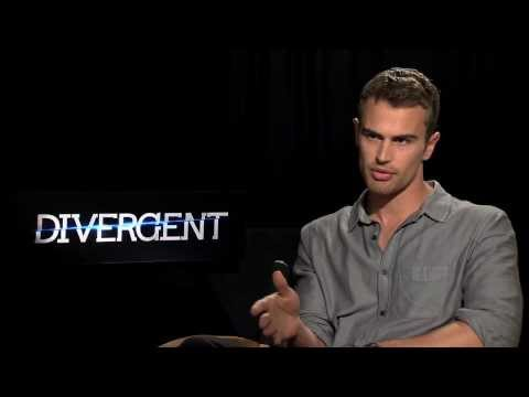 Theo James aka Four Interview for