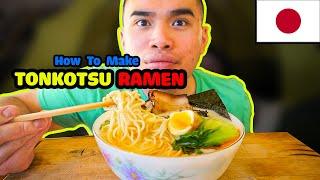 How to make TONKOTSU RAMEN