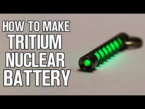 How To Make Tritium Nuclear Battery at Home!