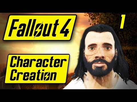 Fallout 4 Character Creation  - BOOBIES MCNUGGETS - Fallout 4 Walkthrough Part 1 - Let's Play [PC]
