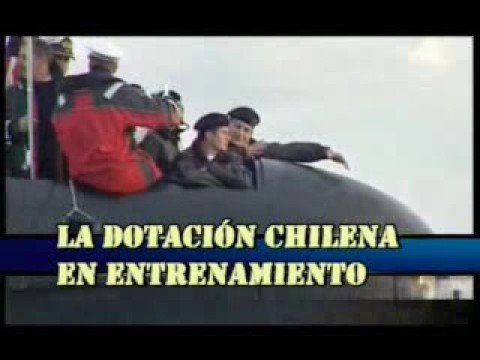 armada de chile - submarinos scorpene