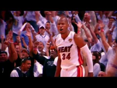 Ray Allen Clutch Three Pointers Mix of 2012-13 NBA Season