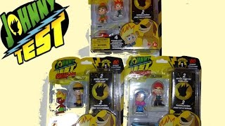 JOHNNY TEST Collection EPISODE 1 Unboxing SERIES 1 Mystery 3 Blind Box RARE Figurines set