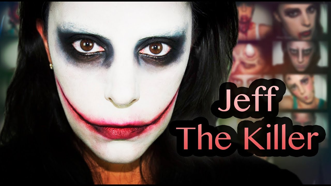 Maquillaje Halloween Jeff The