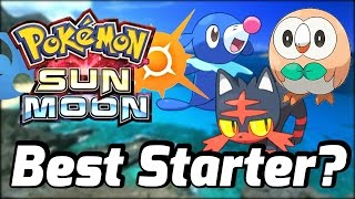 """""""Best Starter for Pokemon Sun and Moon?"""" - Poll Results Discussed + More News June 2"""