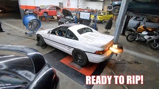 Twin Turbo Mr2 Makes Some Power At Sea Level!