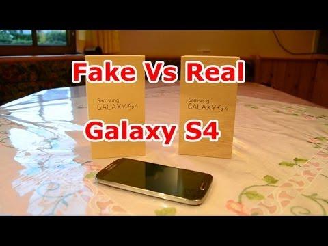 FAKE vs Real Samsung Galaxy S4 Best 1:1 Copy Quadcore Perfect clone Air gesture [HD]