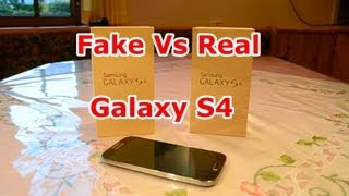 FAKE vs Real Samsung Galaxy S4 - Best 1:1 Copy - Quadcore - Perfect clone - Air gesture [HD]