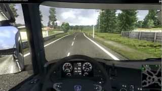 Scania Truck Driving Simulator fuel tanker