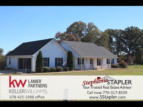FOR SALE 2.23 Acres Horse Farm, 649 Chambers Rd, Commerce GA Banks County