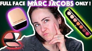 HIGH END und dann SOWAS 😦 | FULL FACE USING ONLY MARC JACOBS | HighEnd Makeup Reihe | Hatice Schmidt