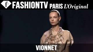 Vionnet Spring/Summer 2015 FIRST LOOK | Paris Fashion Week | FashionTV