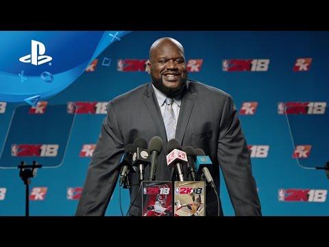 NBA 2K18 - Shaq Legend Reveal Trailer [PS4]