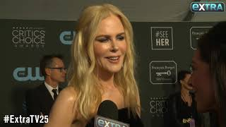 Nicole Kidman on Her Gone-Viral Golden Globes Moment with Rami Malek