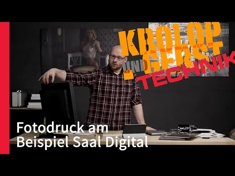 [K&G] :: ON AIR :: KROLOP & GERST TECHNIK // Fotodruck Am Beispiel Saal Digital
