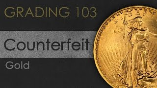 Counterfeit Coin Detection - Gold Coins