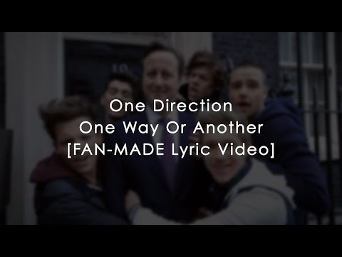 One Direction- One Way Or Another (teenage Kicks) (lyrics) video