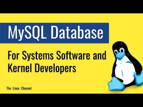 317 MySQL Database - for Systems Software Developers and Kernel Developers