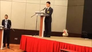 FAPGA 2015 MITI Datuk Lee Chee Leong Speech