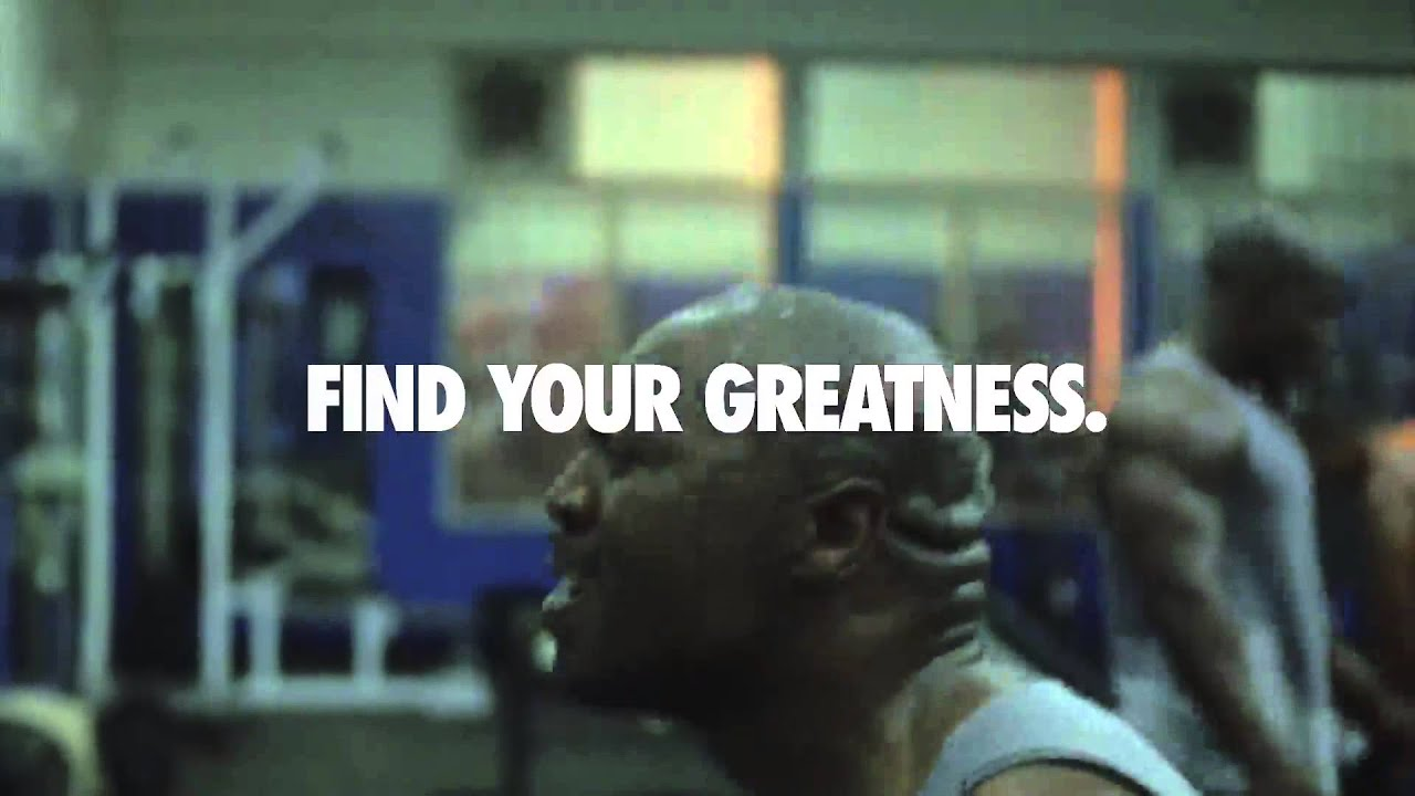 Strive For Greatness Nike Nike Find Your Greatness