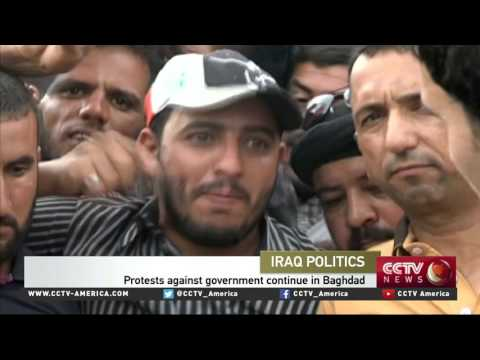 Thousands protest government in Baghdad, storming parliament