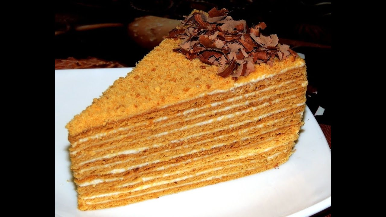 Медовый домашний торт рецепт с фото
