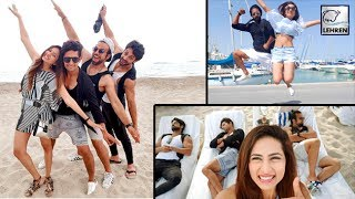 Sargun Mehta Surprises Husband Ravi Dubey In Spain | Khatron Ke Khiladi 8