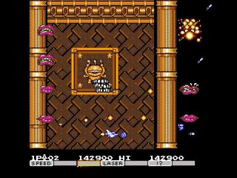 Parodius da! (Famicom) - Hard, No Miss