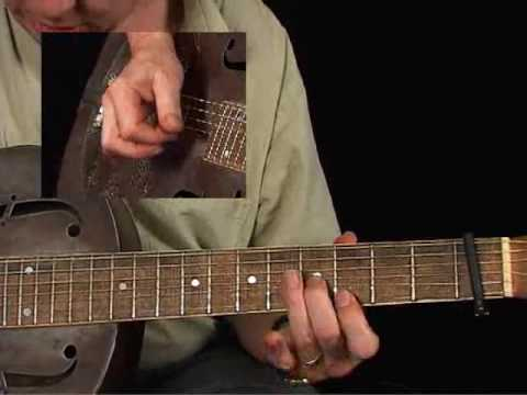 Country Blues Guitar Lessons - Dirt Road Blues - Paul Rishell - Down the Dirt 2