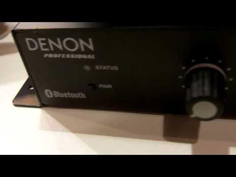 ISE 2015: Denon Professional Explains DN-200AZB Bluetooth Receiver