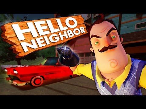 ОБМАНУЛ СОСЕДА! УЗНАЛ ЧТО ЗА ДВЕРЬЮ! ► Hello Neighbor |3|
