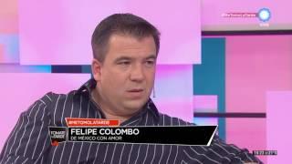 Felipe Colombo en Tomate la tarde