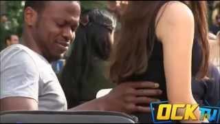 Girl Sitting On People Prank Goes Wrong