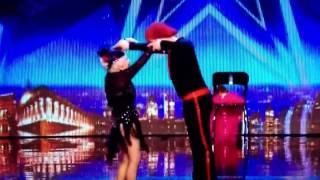 Senhora de 80 Anos Dança Salsa no Britain's Got Talent