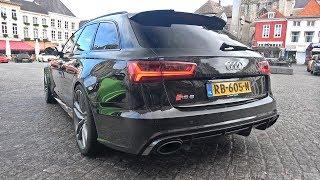 735HP Audi RS6 Avant C7 with Milltek Sport Exhaust! Start, Revs, Accelerations!
