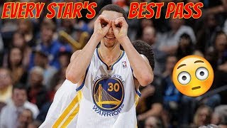Every NBA Star's Best Pass!