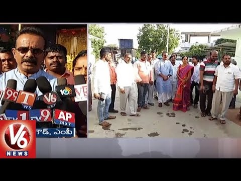 MP Bura Narsaiah Goud Visits Yadadri, Says Govt Will Take Stringent Action Against Brothels | V6