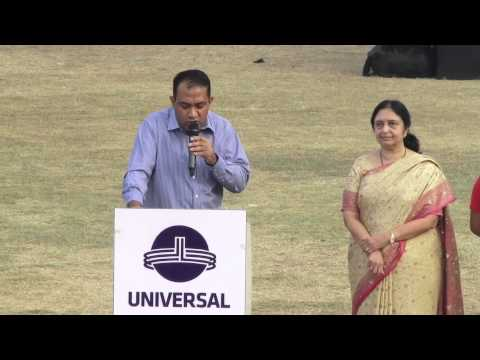 USG Annual Sports Day 2014-15  - Speech By The Chief Guest Consul General Of Mauritius