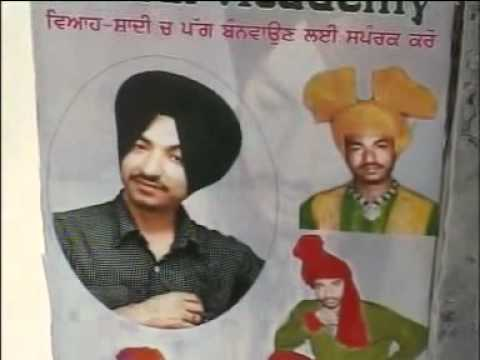 Pride Of Sardar New Tying Turban With Clozed Eyes On Another Head. Bhupinder Thind 9463115177 video