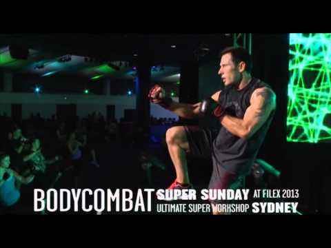 Les Mills Bodycombat® 56 At Super Sunday 2013 video