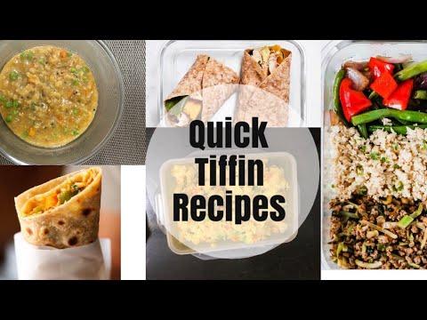 6 Quick Lunch Box/Tiffin Box For Kids/Bachelors/Students |  6 बच्चों की पंसदिन्दा लंच बाक्स रेसिपीज़