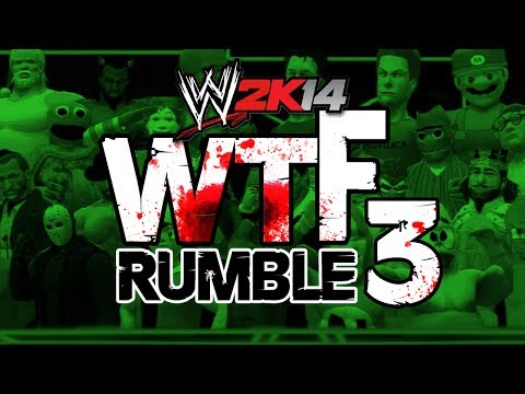 WWE 2K14: WTF RUMBLE 3