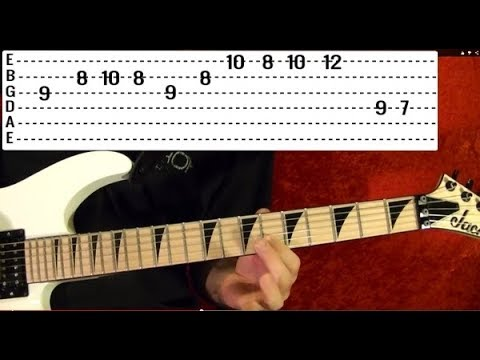 Lessons - Metal - Heavy Metal Riffs 18