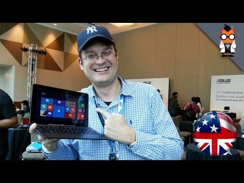 ASUS Transformer Book T100 Hands On - Windows 8.1 BayTrail 2 in 1