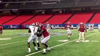 Scenes from Alabama football