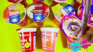 NO elijas el Yogurt incorrecto para hacer Slime - Supermanualidades